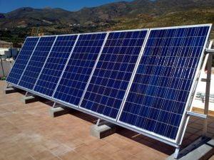 paneles fotovoltaicos en red