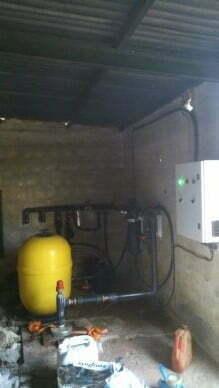 Bombeo solar con cabezal de riego con abonadora