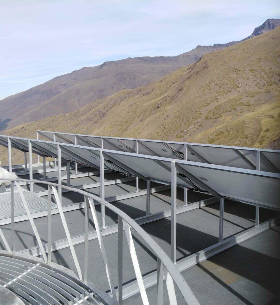 Instalacion Placas Solares Sierra Nevada Granada
